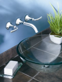 Contemporary Icon Wall Mount Faucets