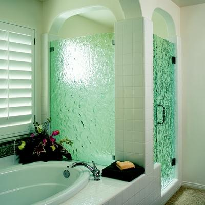Separate Tub and Shower Bathroom Design