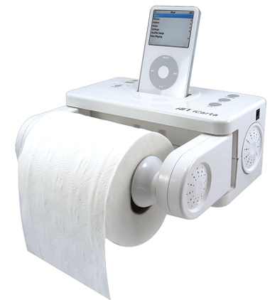 iPod Toilet Dock by Atech