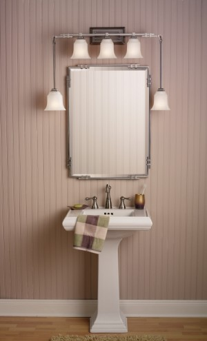 Enhance Bathroom Design With Kichler BeautyWrap Lighting