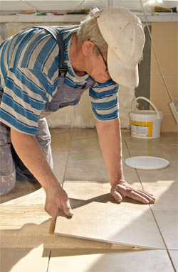 Installing Bathroom Tiles